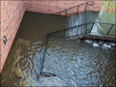 Broken water main floods UCLA; 5 people rescued