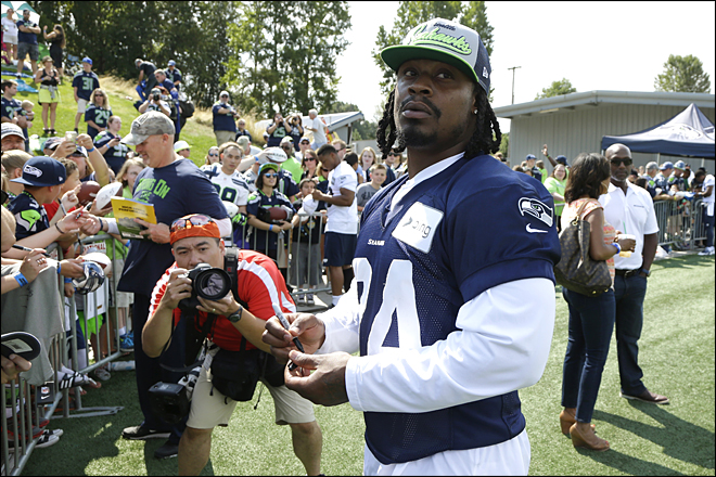 Seahawks: Accusations against Marshawn Lynch are 'bogus'