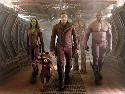 'Guardians of the Galaxy' tops MTV Movie Awards nominations