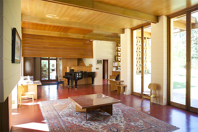 Frank Lloyd Wright designed Oregon house as a place for art