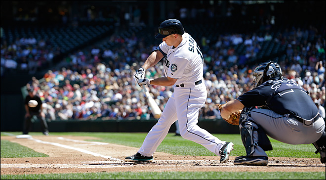 M's beat Braves 7-3 for series sweep