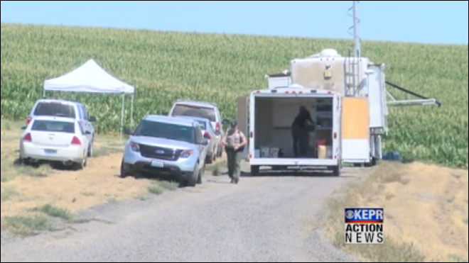 Three bodies found on farm near Kennewick, Wash.