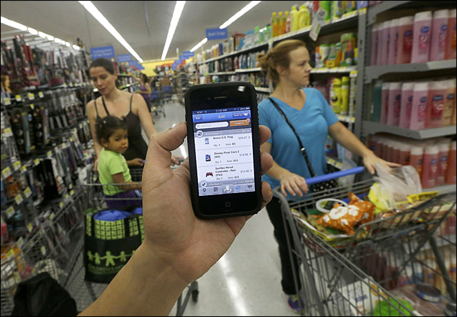 Wal-Mart: If app doesn't succeed, try, try again