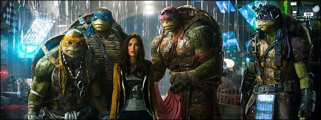 'Turtles' tops weak debut for 'Expendables 3'