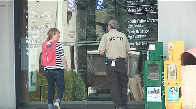 Medical center doors locked after 'vague' bomb threat