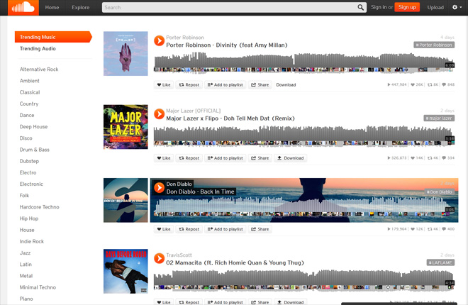 Music site SoundCloud to start paying artists