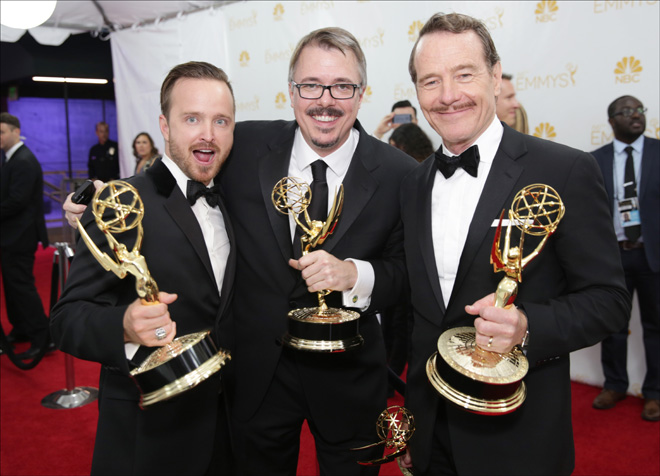 'Breaking Bad' and Bryan Cranston win Emmy Awards