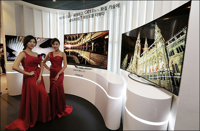 LG bets on pricey OLED technology as future of TVs