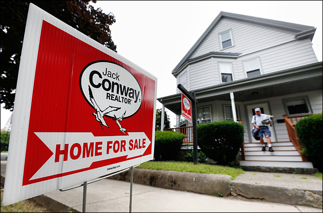 Home prices rise at slower place in June