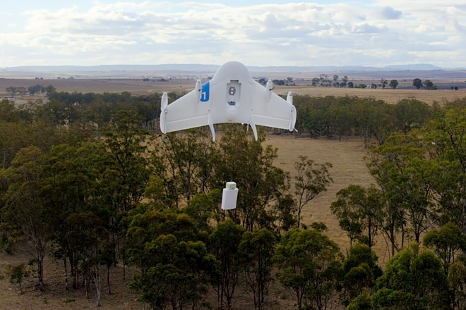 Google building fleet of package-delivering drones