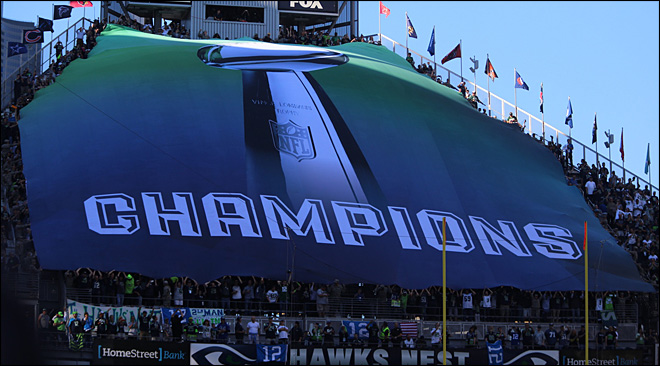 Seahawks set the stage to kickoff 2014 NFL season