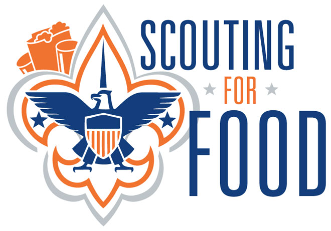 Scouts collecting donations for food banks saturday local amp regional