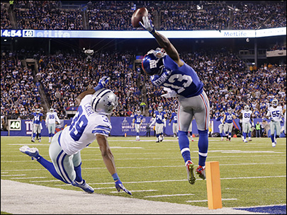 Beckham thought during unbelievable 1-hand grab: just catch it