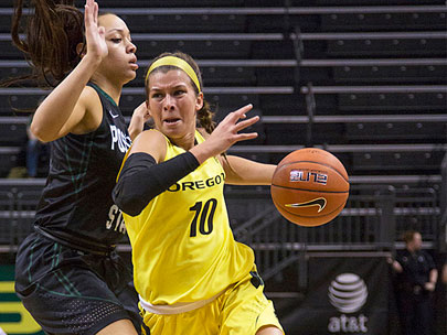 Oregon women beat Portland State, 63-56: 'We didn't play our best'