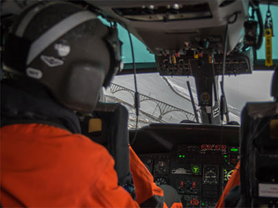 Photos: Above Oregon in a Coast Guard helicopter