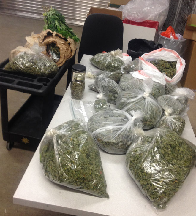 Sheriff: Threat with cordless drill leads deputies to 17 lbs of pot