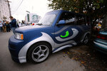 Photos: The 12th Man rides in style