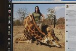 Idaho huntress in cross hairs of social media