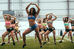 Photos: Hundreds try out to join Sea Gals
