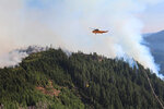 Cable Crossing Fire estimated at 60 percent containment