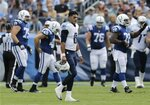 Luck rallies Colts to 1st win of season 35-33 over Titans