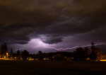 Uncharacteristic Thunderstorms in Eugene