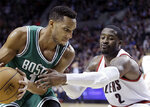 Last-second 3-point shot gives Boston 90-89 win over Portland