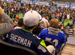 From near and far, the 12th man showed their support at Media Day