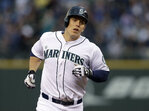M's Morrison breaks bat in frustration, needs stitches