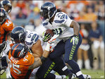 Seahawks' Sweezy takes hold of starting job