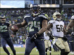 Beast Mode's 2 TD's help lead Seahawks to 23-15 win over Saints