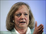 Hewlett-Packard shares rise after positive talk from CEO