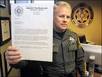 Oregon sheriff to VP: I won't enforce any new gun laws