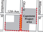 Downtown street closed for 6 months during construction project