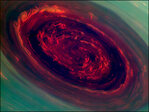 NASA spacecraft captures photos of monster hurricane on Saturn