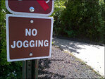 'Hikers Only' after wildlife refuge bans jogging
