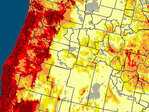 Drought Monitor: 91% of Oregon 'abnormally dry'
