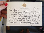 Boy who suggested chocolate bullets gets letter from Biden
