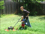 Don't lose your toes: Practice lawnmower safety