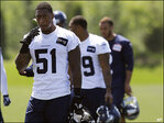 Seahawks begin workouts with distractions galore