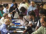 U.S. job openings slip in April; hiring rises