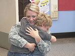'Mommy!' Air Force mom surprises son after 9 months away