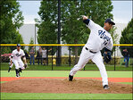 Hops bury Emeralds in home opener