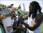 Seattle's Sherman puts focus back on field