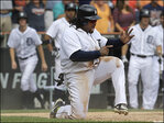 M's edged by Tigers 5-4