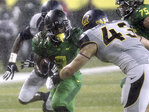 Oregon picks up another 1st-place vote in AP Poll