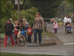 National Walk To School Day: 'It gives you a lot of energy!'