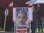 Protesters: Impeach Obama over government shutdown