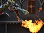 Photos: 'I'm just the crazy guy on 17th Street that sets up a dragon'