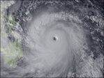 One of largest storms in recorded history bearing down on Philippines